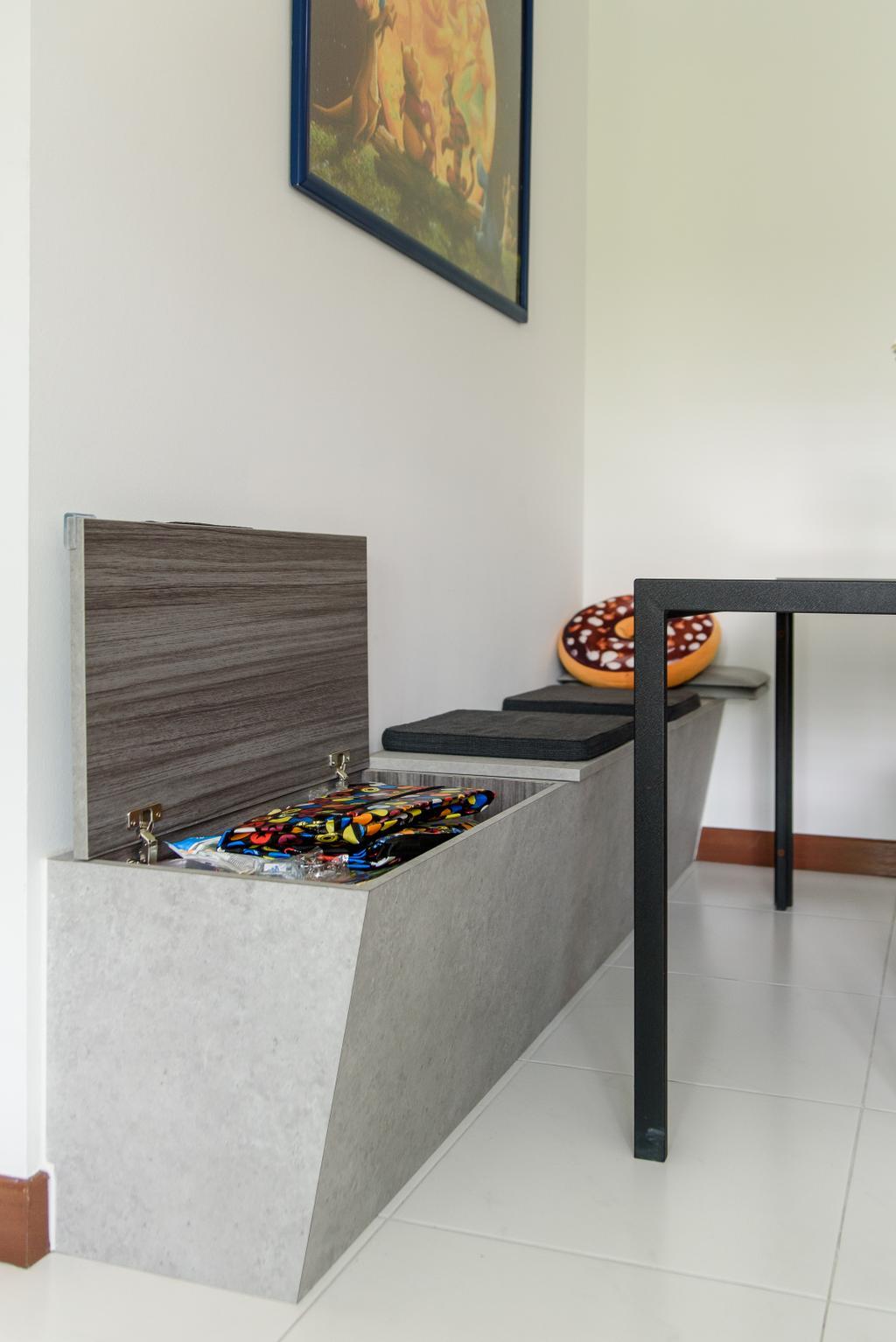 Modern, HDB, Dining Room, Punggol Central, Interior Designer, NJ Concept