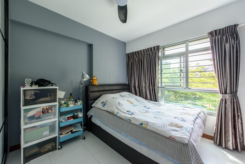 Modern, HDB, Bedroom, Punggol Central, Interior Designer, NJ Concept