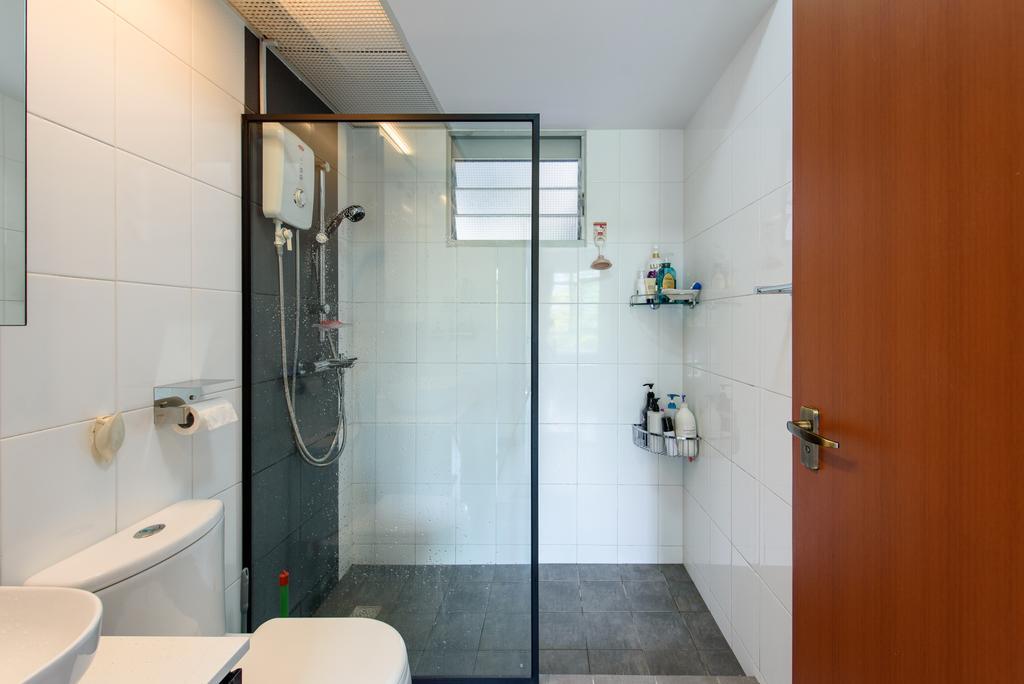 Modern, HDB, Bathroom, Punggol Central, Interior Designer, NJ Concept