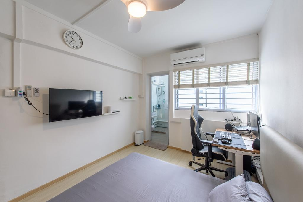 Scandinavian, HDB, Bedroom, Jurong East Street 32, Interior Designer, NJ Concept