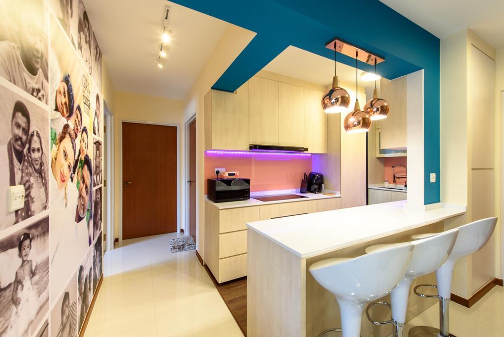 Contemporary, HDB, Dining Room, Canberra Crescent, Interior Designer, NJ Concept