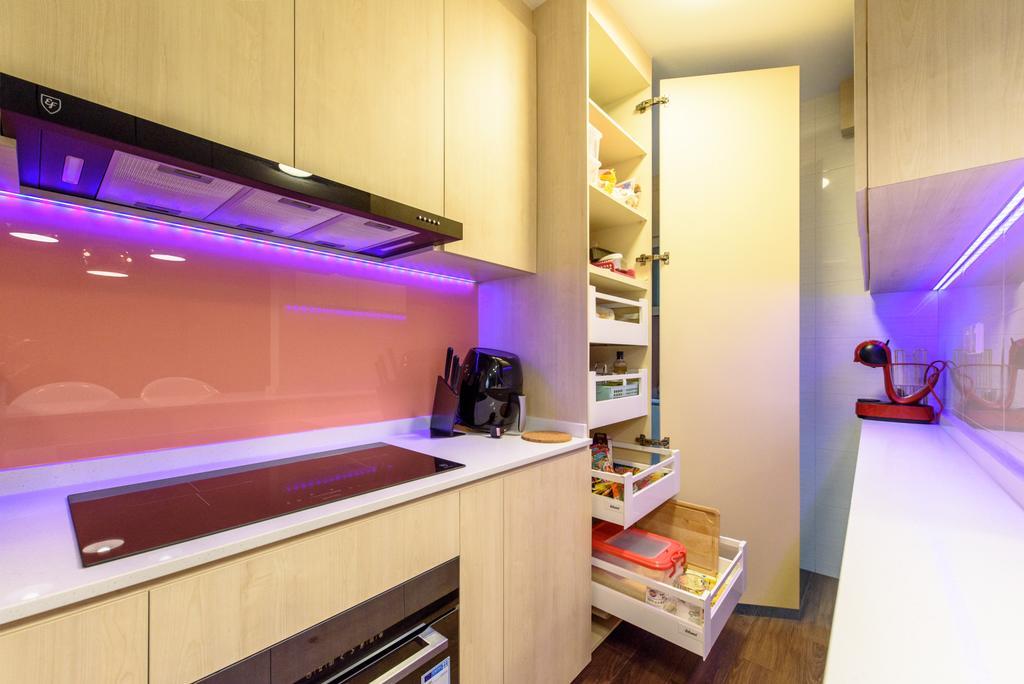 Contemporary, HDB, Canberra Crescent, Interior Designer, NJ Concept