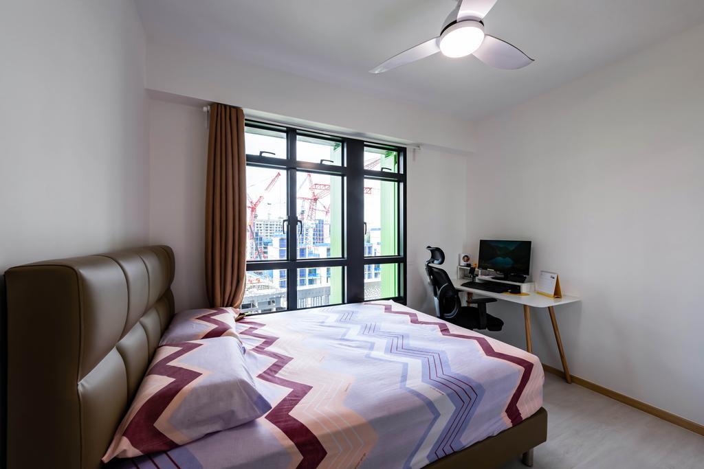 Modern, HDB, Bedroom, Bidadari Park Drive, Interior Designer, NJ Concept, Scandinavian