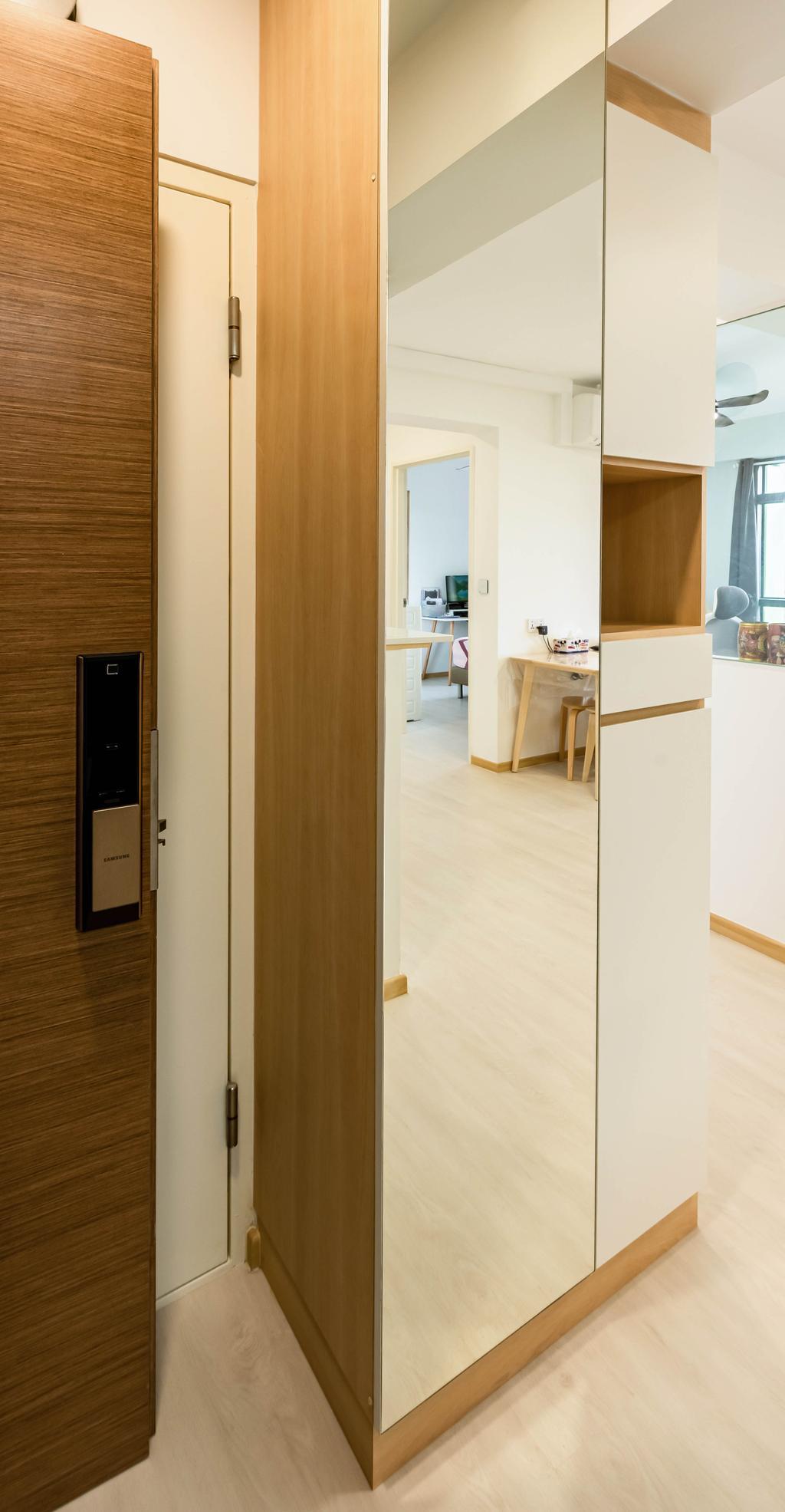 Modern, HDB, Living Room, Bidadari Park Drive, Interior Designer, NJ Concept, Scandinavian