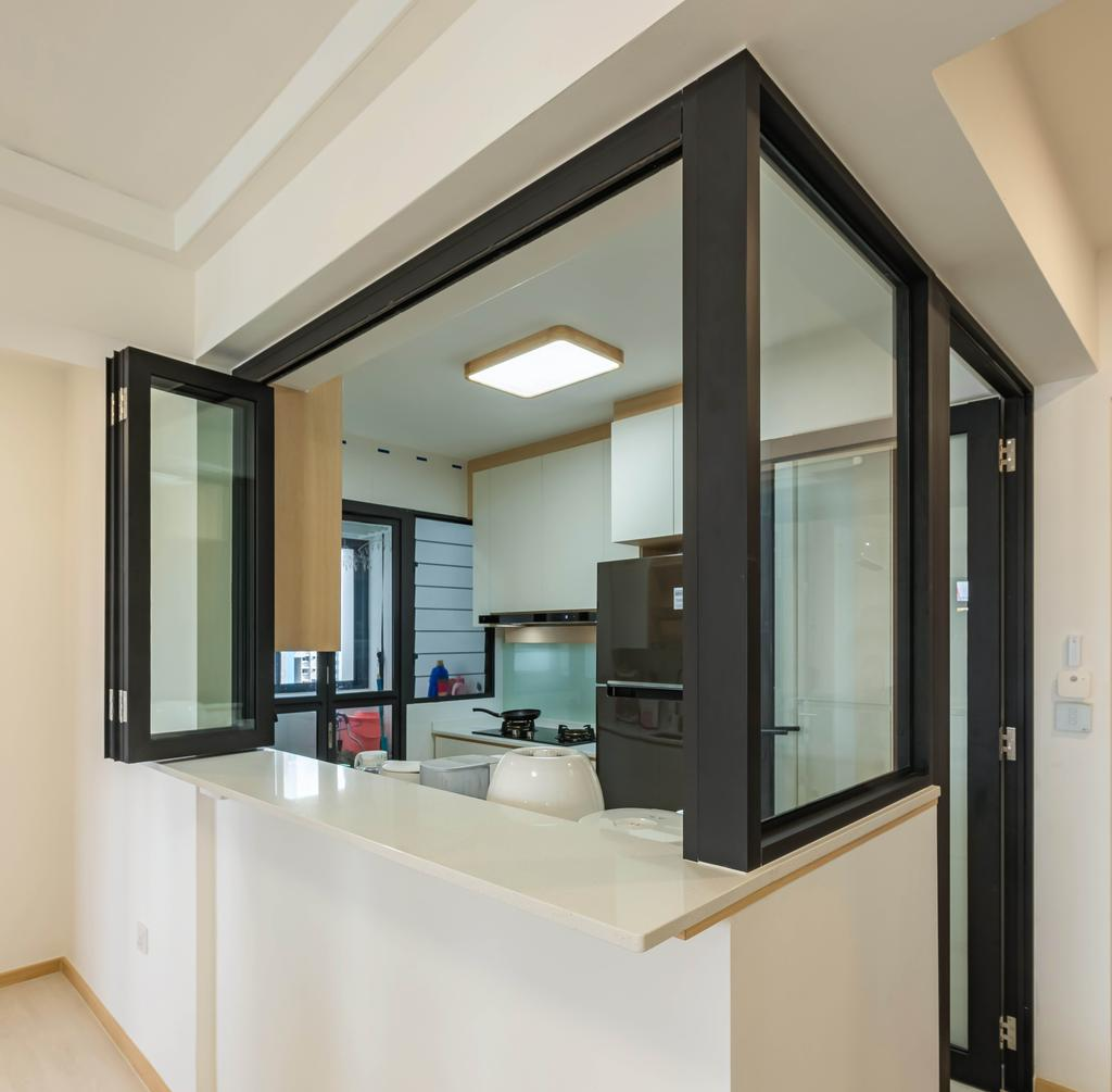 Modern, HDB, Kitchen, Bidadari Park Drive, Interior Designer, NJ Concept, Scandinavian