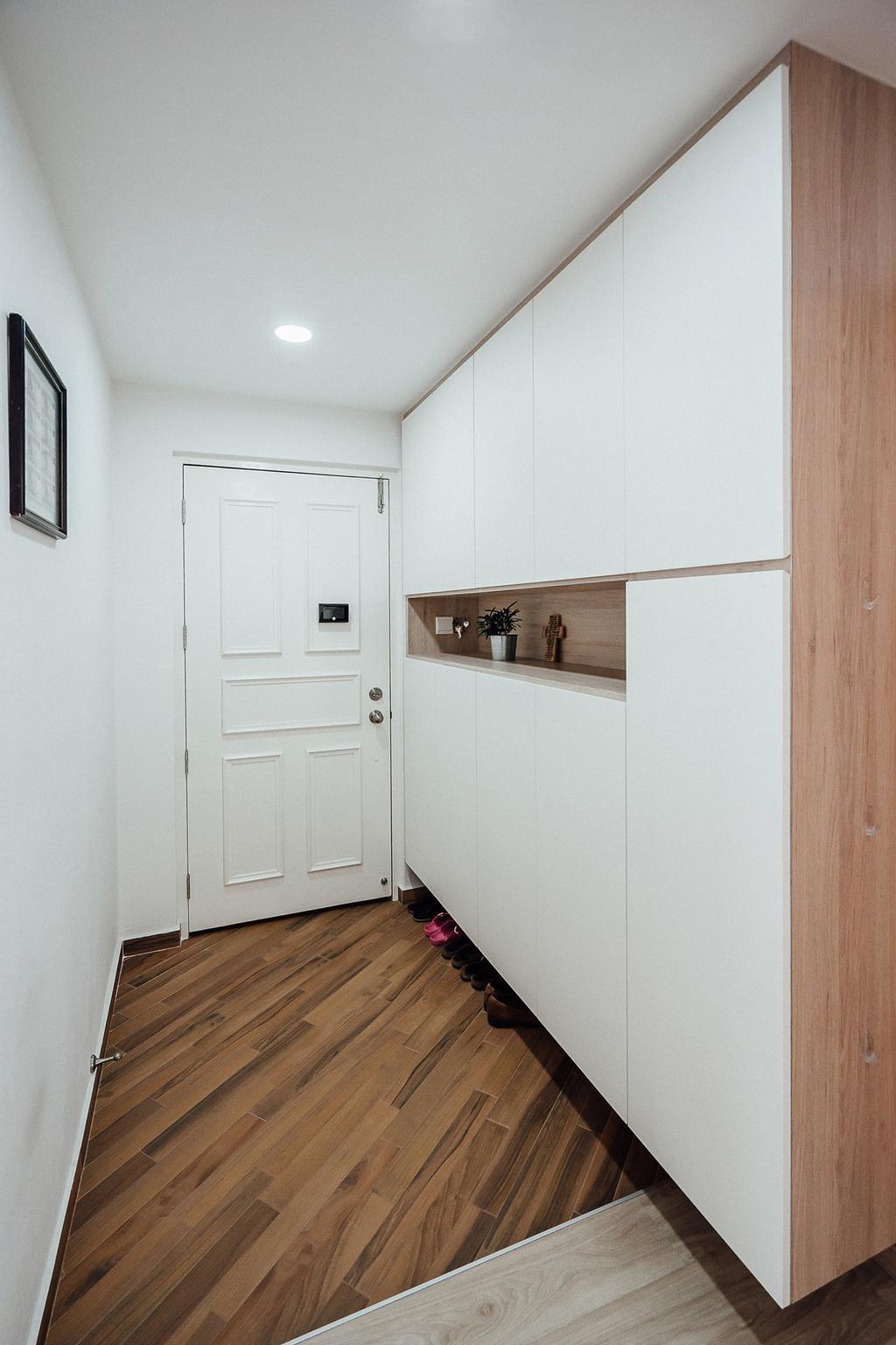 Minimalistic, HDB, Living Room, Choa Chu Kang Avenue 3, Interior Designer, Carpenter Direct, Scandinavian