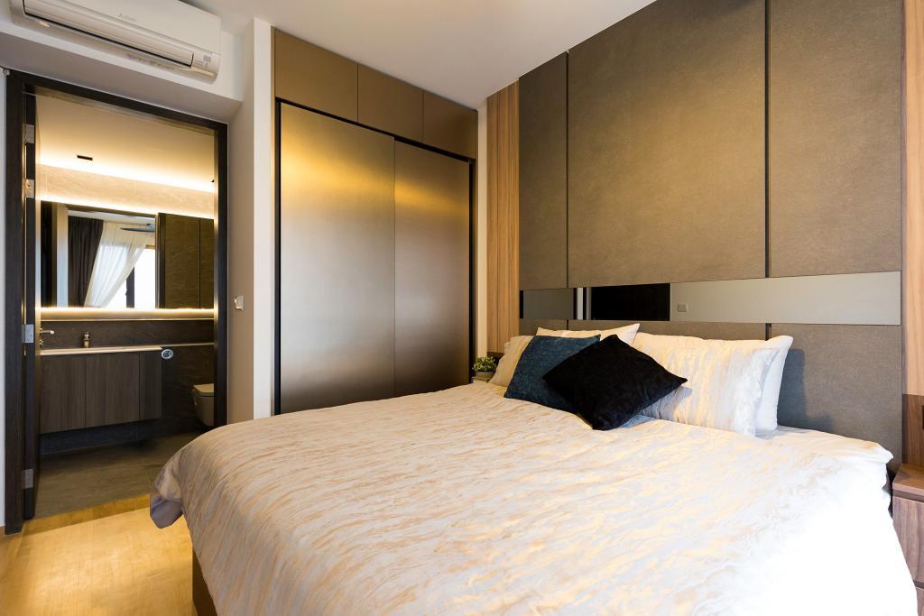 Modern, Condo, Bedroom, The Clement Canopy, Interior Designer, Carpenter Direct, Contemporary