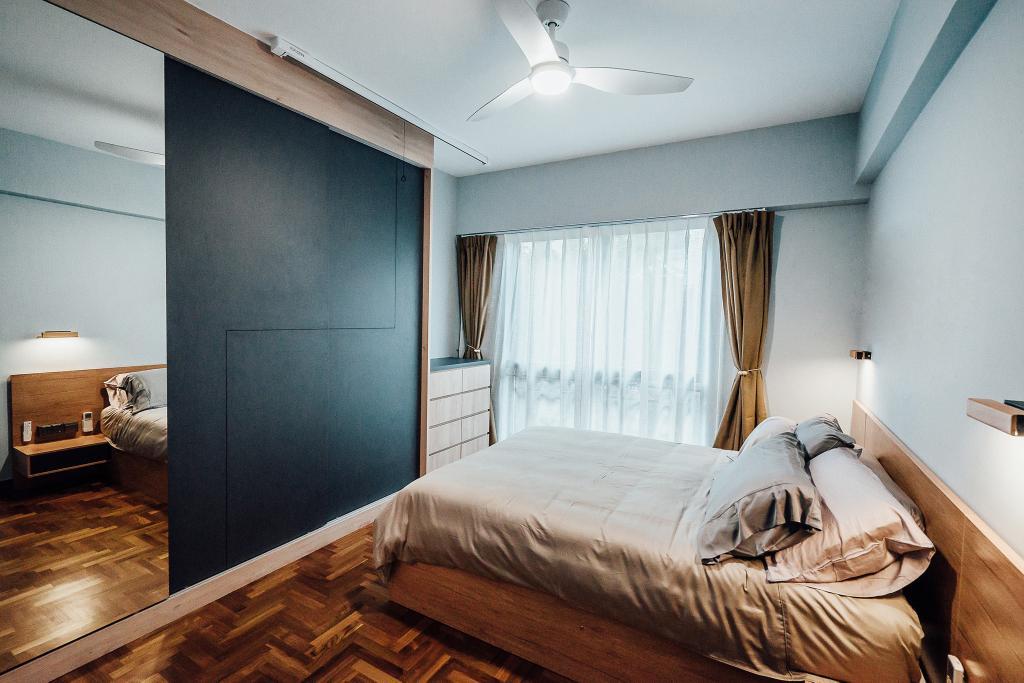 Contemporary, Condo, Bedroom, The Bencoolen, Interior Designer, Carpenter Direct
