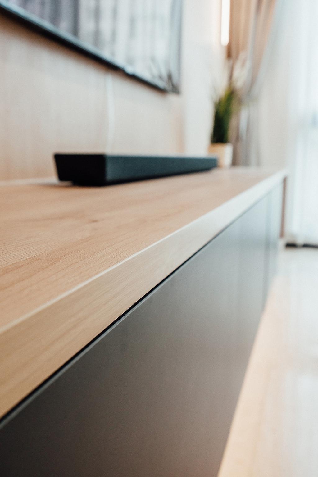 Contemporary, Condo, Living Room, The Bencoolen, Interior Designer, Carpenter Direct