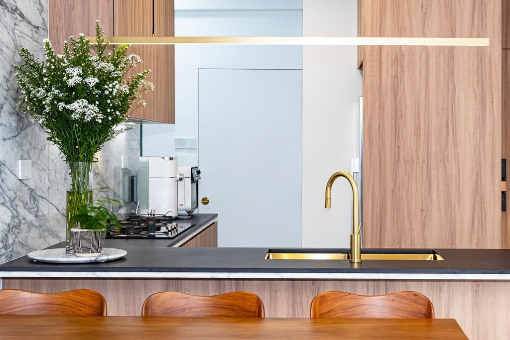 Contemporary, Condo, Kitchen, King Albert Lodge, Interior Designer, Carpenter Direct