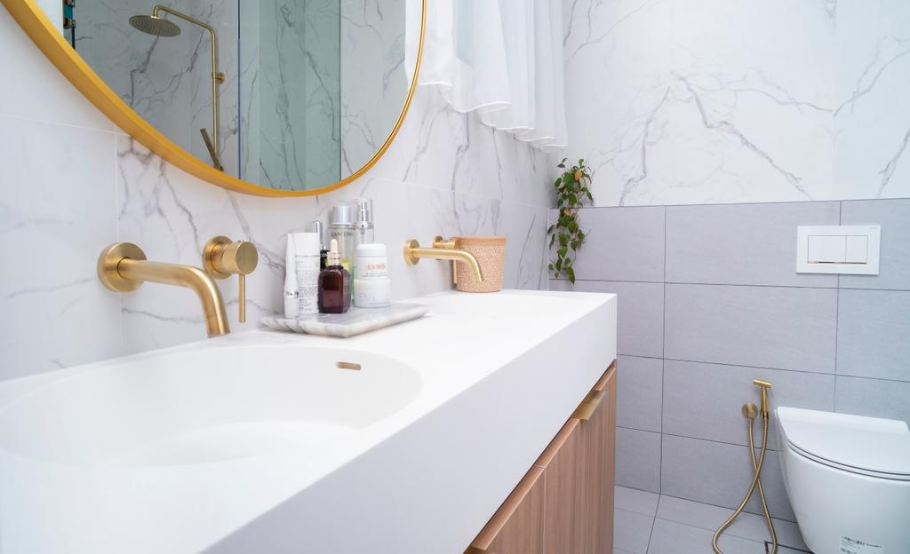 Contemporary, Condo, Bathroom, King Albert Lodge, Interior Designer, Carpenter Direct