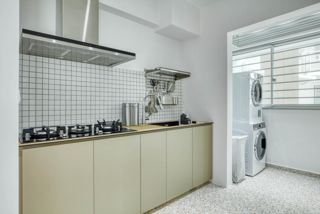 Modern, HDB, Bedok North Street 4, Interior Designer, Carpenter Direct, Minimalistic