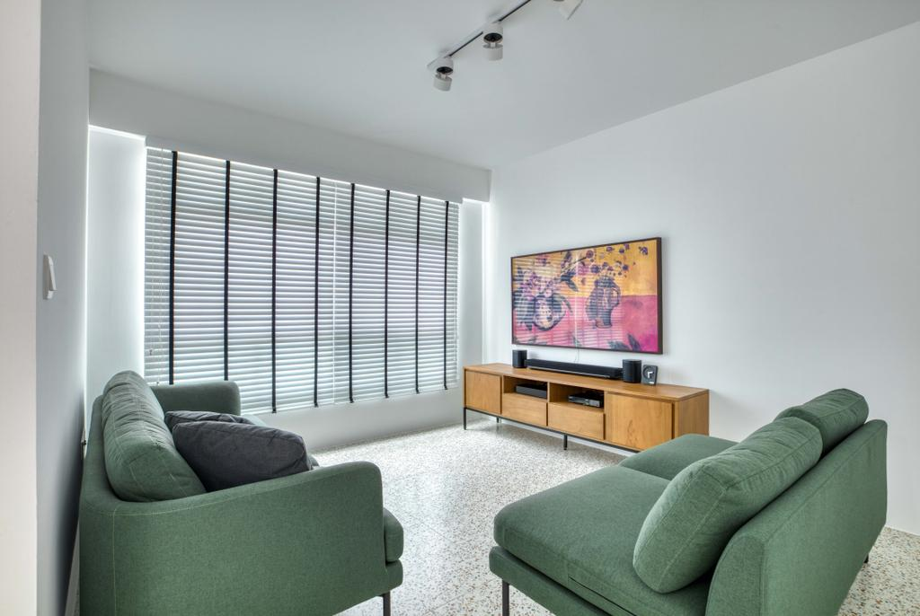 Modern, HDB, Living Room, Bedok North Street 4, Interior Designer, Carpenter Direct, Minimalistic