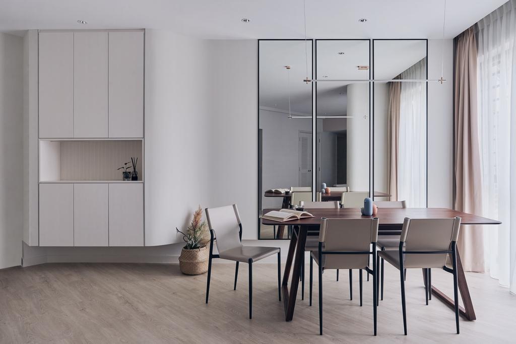 Modern, Condo, Dining Room, Regentville, Interior Designer, Happe Design Atelier, Scandinavian