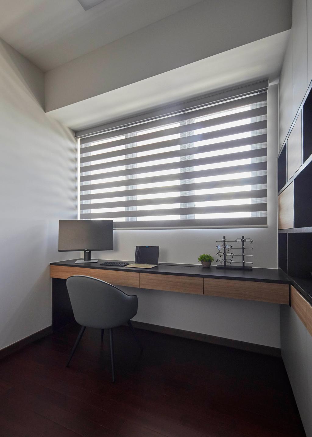 Contemporary, Condo, Study, Queens Peak, Interior Designer, The Interior Lab, Scandinavian
