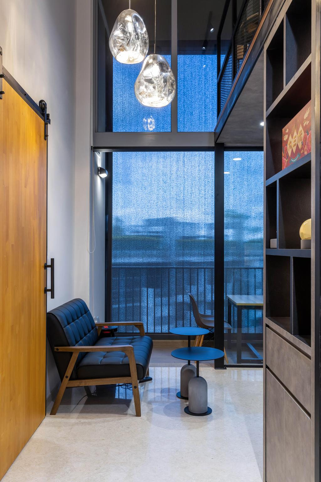 Contemporary, Condo, Living Room, The Rivertrees, Interior Designer, Archiwu Interior
