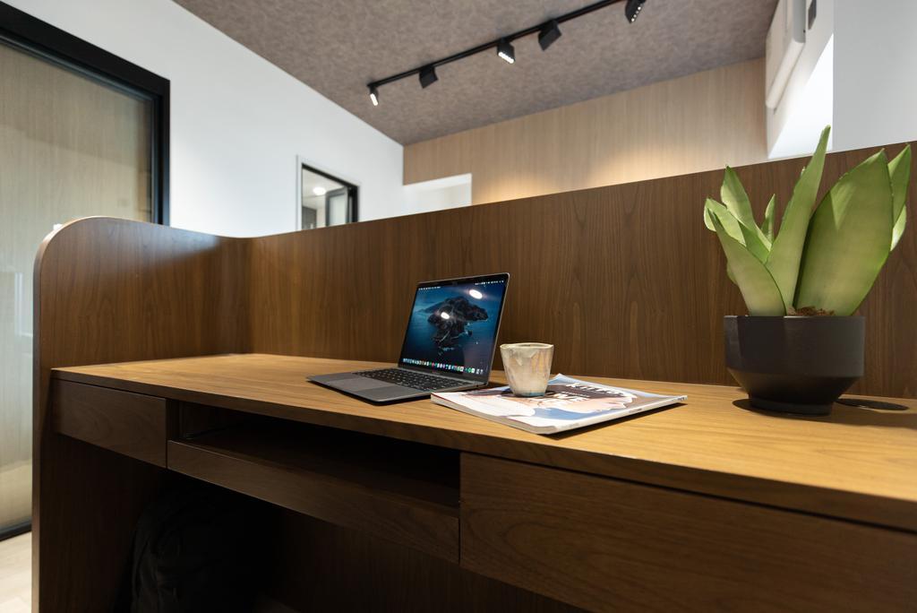 當代, 私家樓, 書房, Sheung Shui Centre, 室內設計師, B.R.G. Interior Design