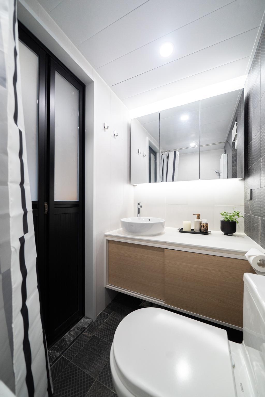 當代, 私家樓, 浴室, Sheung Shui Centre, 室內設計師, B.R.G. Interior Design