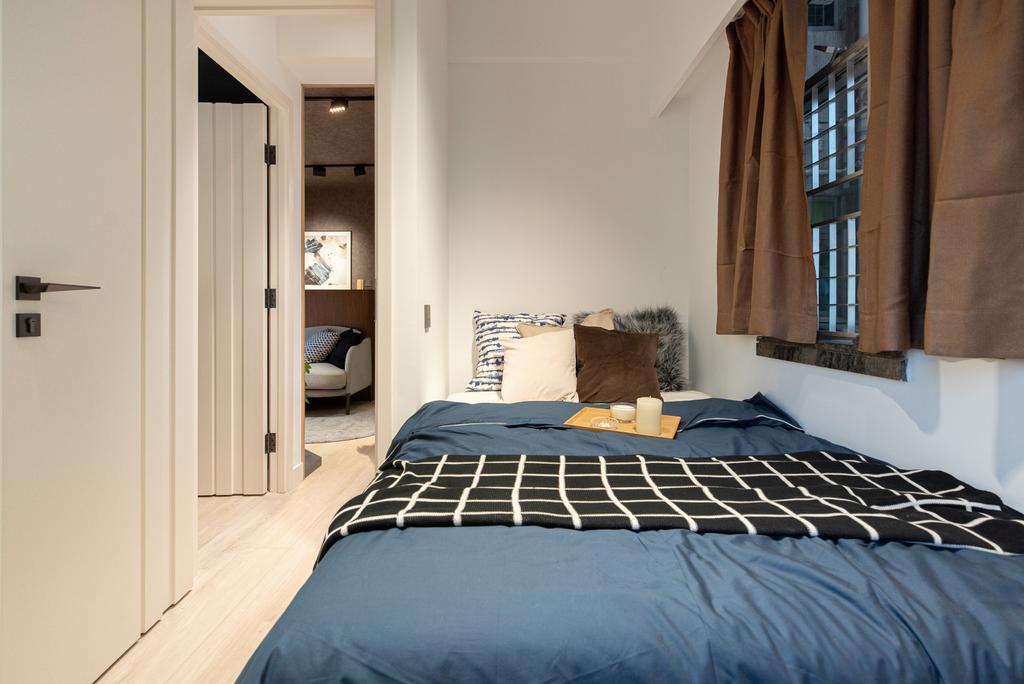 當代, 私家樓, 睡房, Sheung Shui Centre, 室內設計師, B.R.G. Interior Design