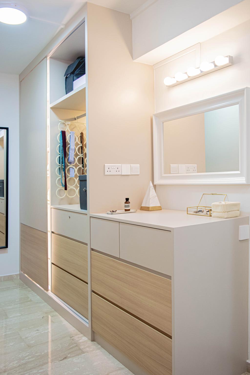 Modern, HDB, Bedroom, Jalan Damai, Interior Designer, Posh Home, Contemporary