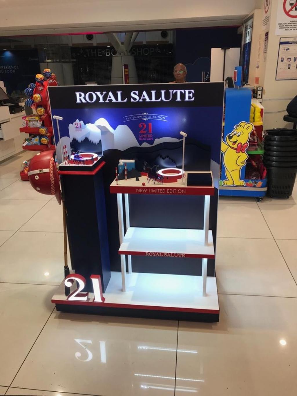 Royale Salute, KLIA Satellite Building, Commercial, Interior Designer, BIQQ Interior