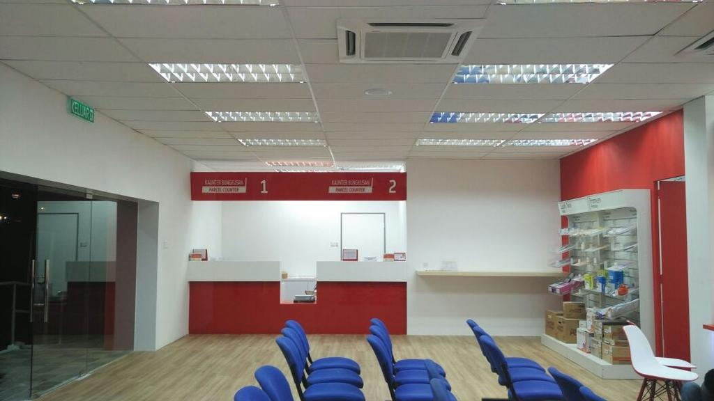 POS Malaysia, Kelana Jaya, Commercial, Interior Designer, BIQQ Interior, Modern