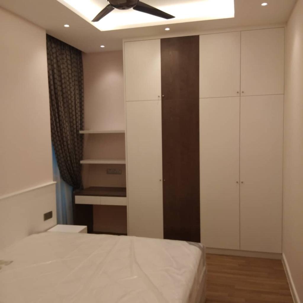 Condo, Bedroom, Seringgi, Happy Garden, Interior Designer, BIQQ Interior