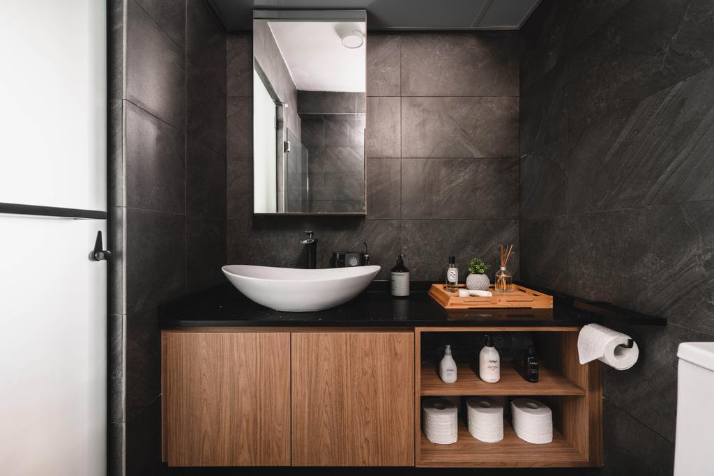 Contemporary, HDB, Bathroom, Upper Boon Keng, Interior Designer, SHE Interior