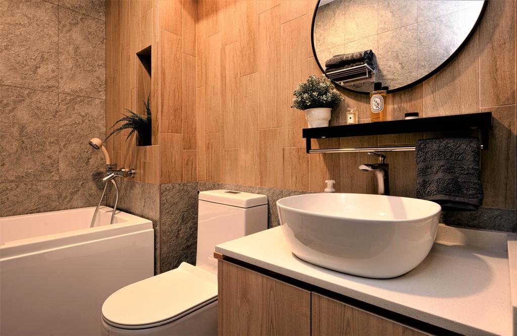 Contemporary, HDB, Upper Boon Keng, Interior Designer, SHE Interior