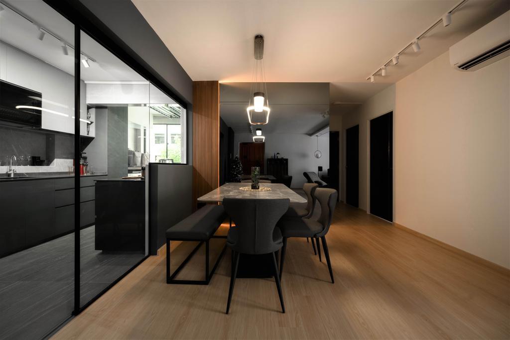 Contemporary, HDB, Dining Room, Upper Boon Keng, Interior Designer, SHE Interior