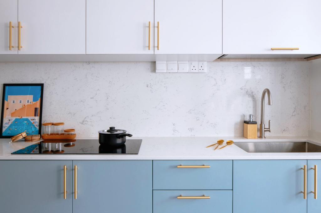 Scandinavian, HDB, Kitchen, Bedok Reservoir Road, Interior Designer, Ascend Design