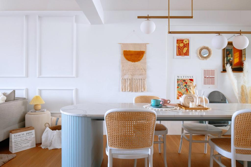 Scandinavian, HDB, Dining Room, Bedok Reservoir Road, Interior Designer, Ascend Design