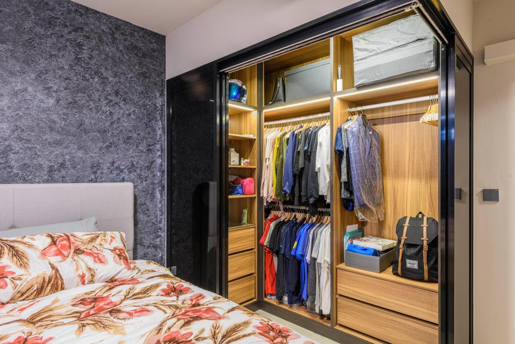 Modern, HDB, Bedroom, Tampines Central, Interior Designer, Omni Design, Contemporary