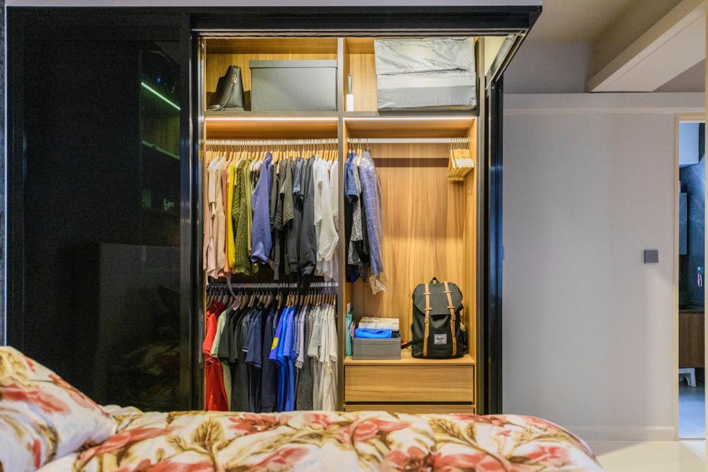 Modern, HDB, Tampines Central, Interior Designer, Omni Design, Contemporary