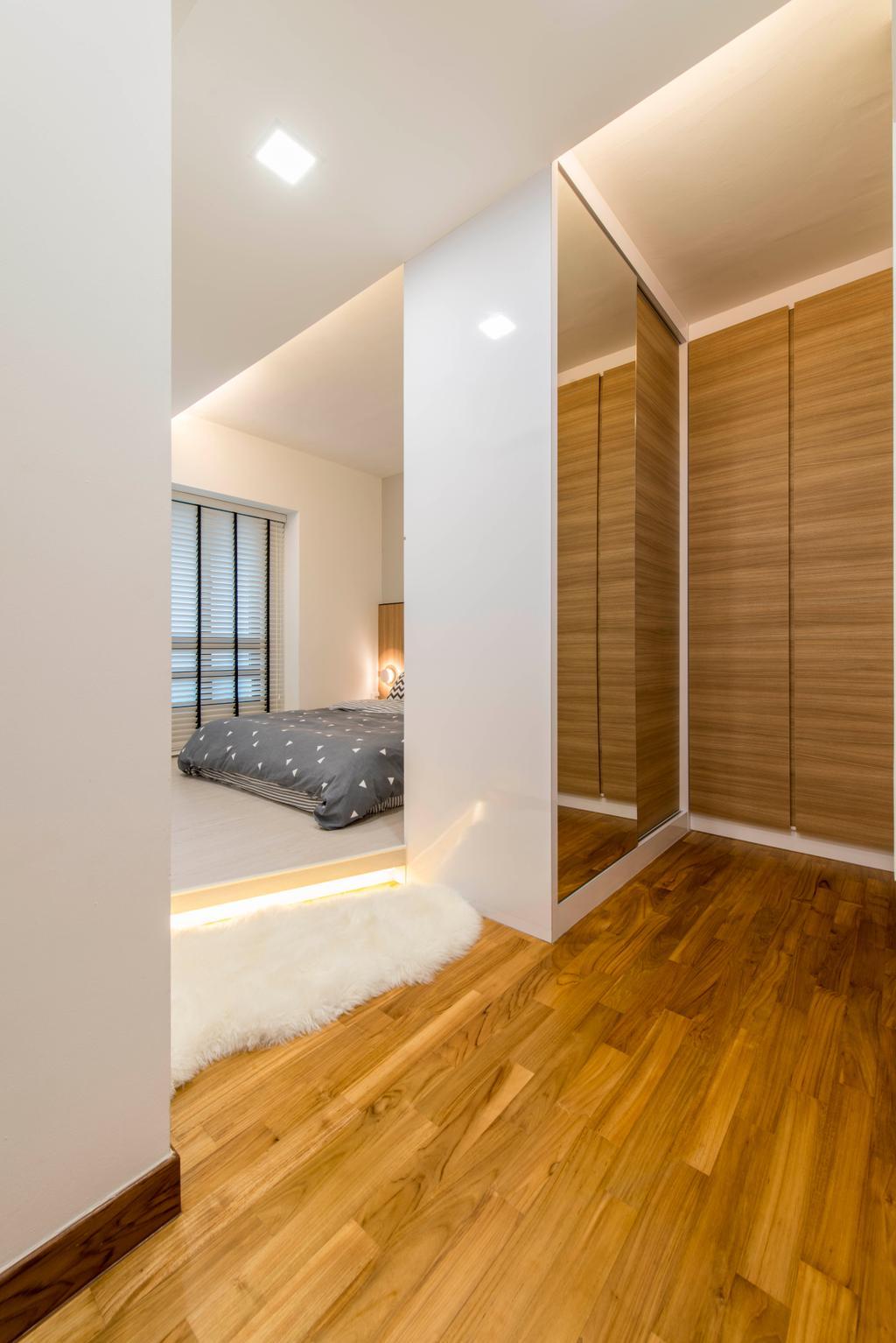 Scandinavian, HDB, Bedroom, Skyville @ Dawson, Interior Designer, E&S