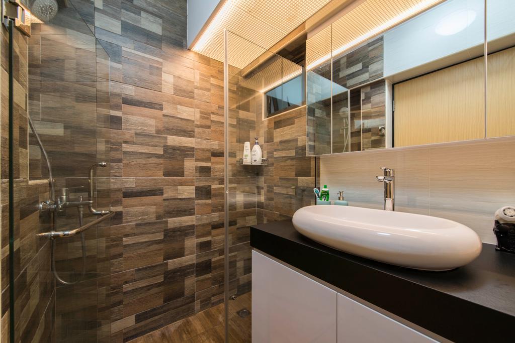 Scandinavian, HDB, Bathroom, Skyville @ Dawson, Interior Designer, E&S