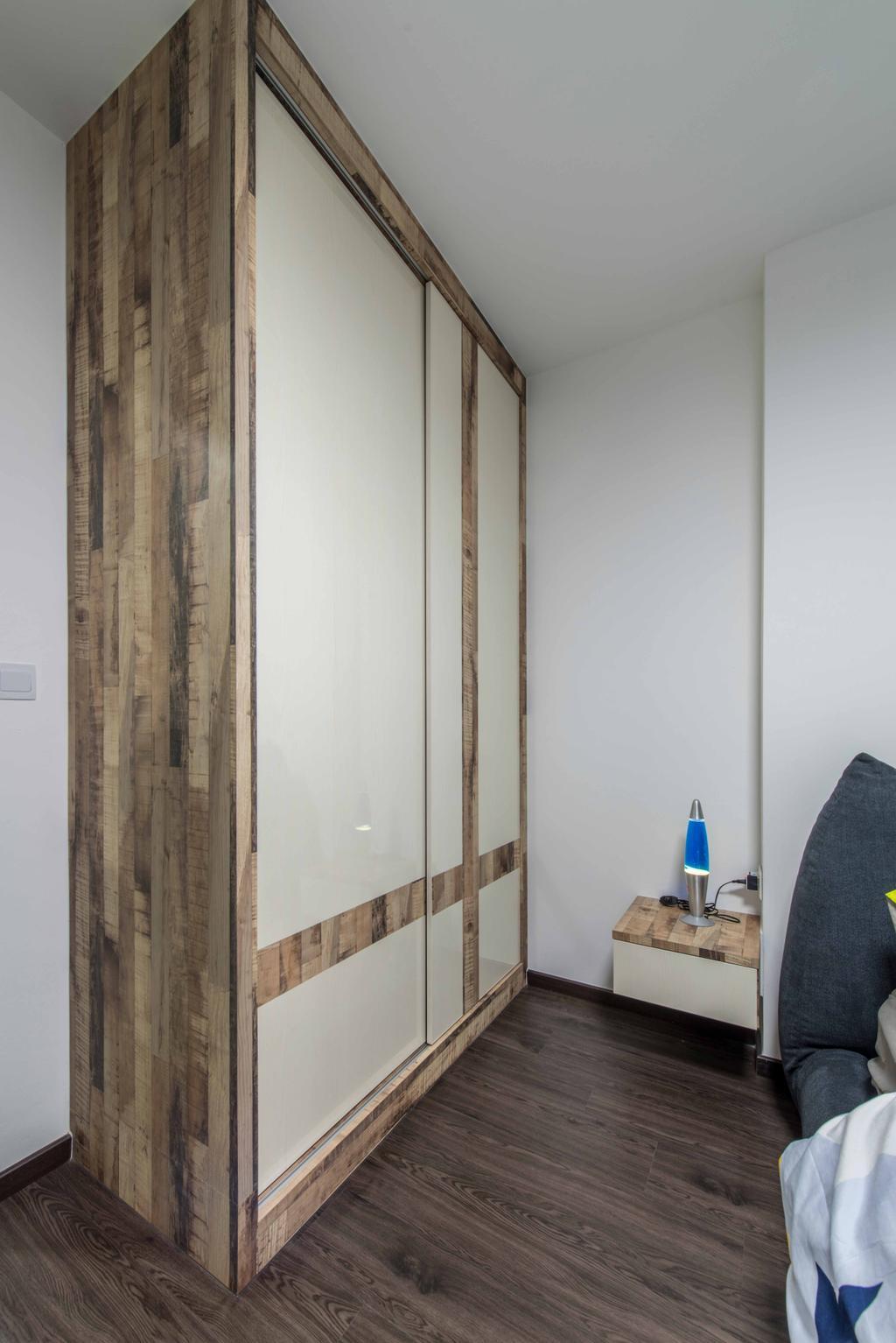 Modern, HDB, Bedroom, Choa Chu Kang Ave 1, Interior Designer, E&S