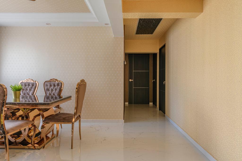 Modern, HDB, Dining Room, Bedok Reservoir Road, Interior Designer, E&S, Contemporary