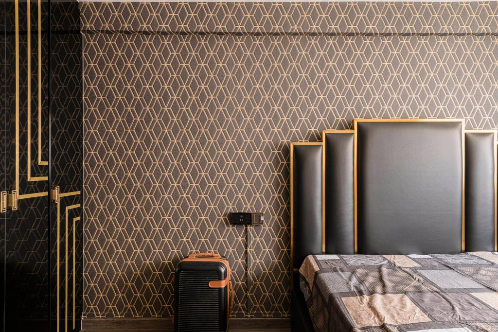 Modern, HDB, Bedroom, Bedok Reservoir Road, Interior Designer, E&S, Contemporary