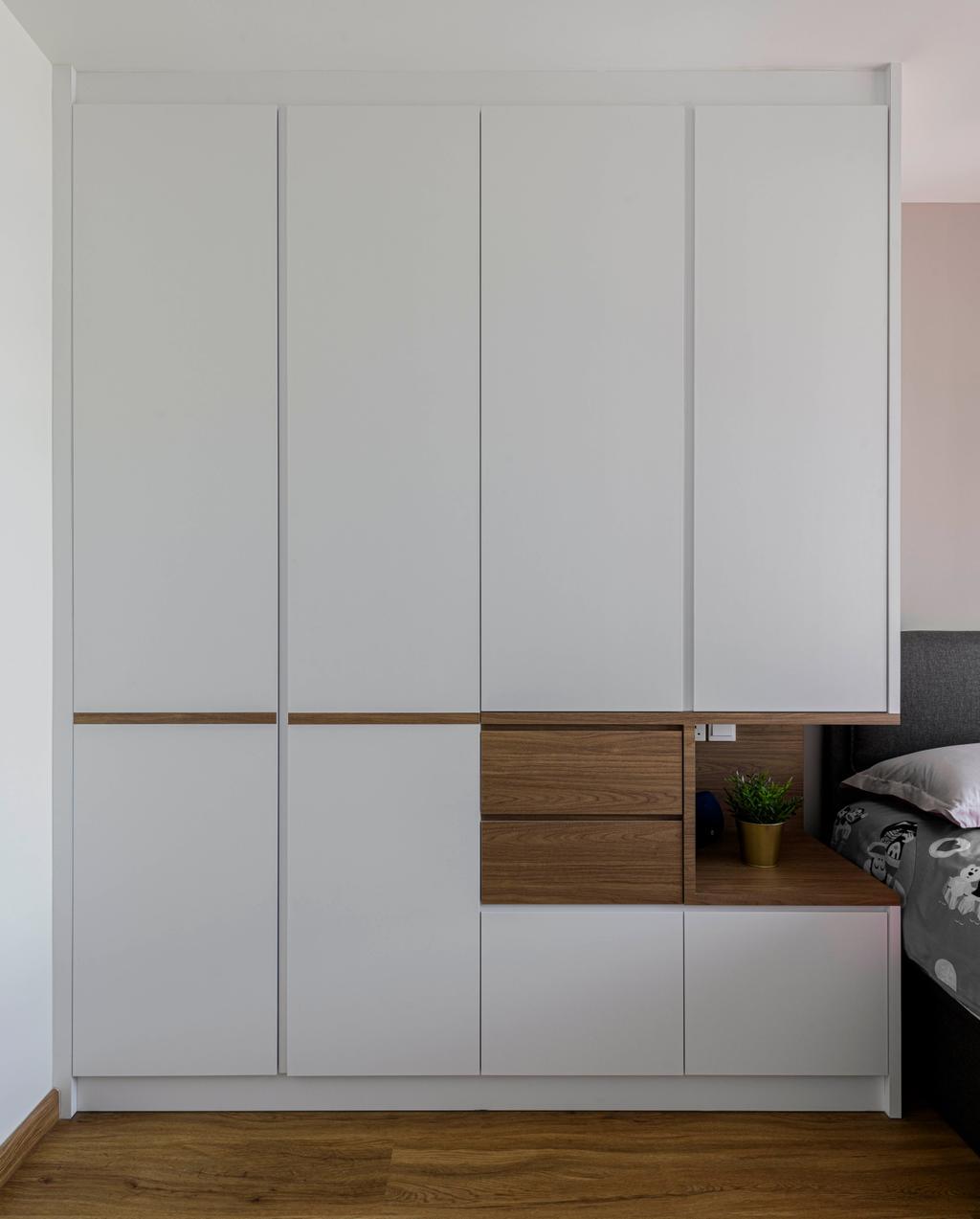 Modern, HDB, Bedroom, Clementi Avenue 3, Interior Designer, E&S, Scandinavian