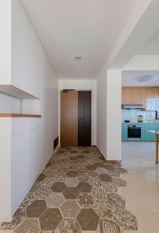 Modern, HDB, Clementi Avenue 3, Interior Designer, E&S, Scandinavian