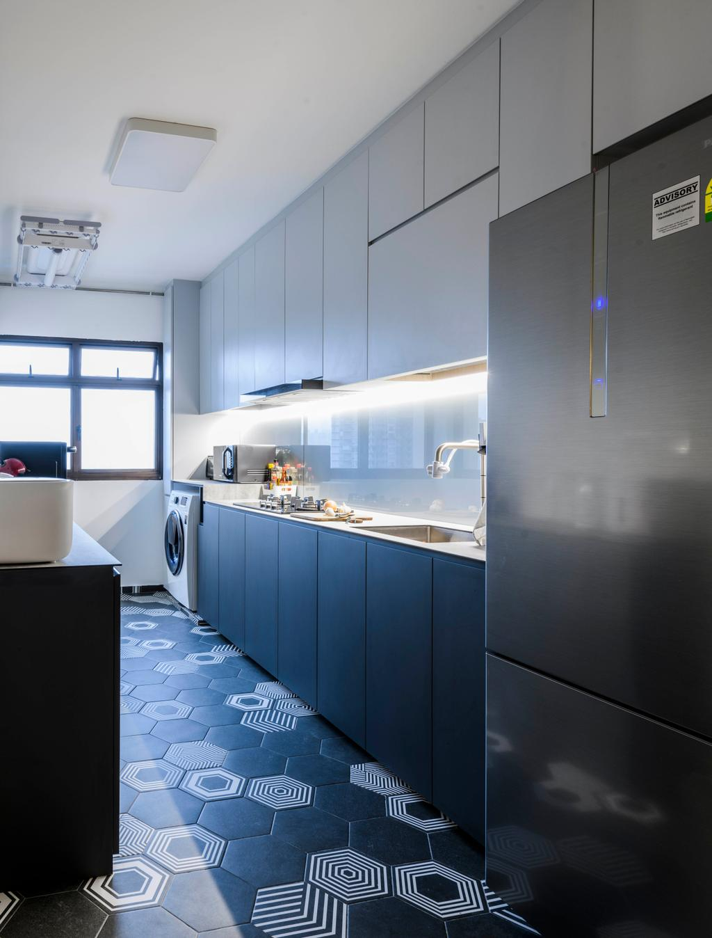 Contemporary, HDB, Redhill Road, Interior Designer, E&S