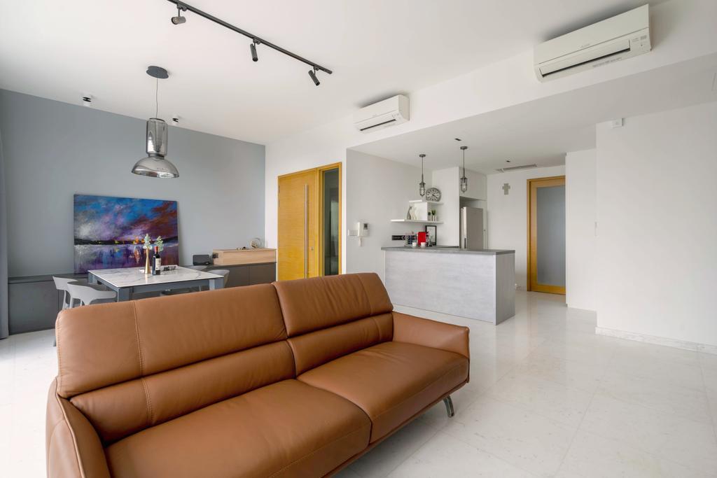 Contemporary, Condo, Living Room, Aalto, Interior Designer, The Makers Design Studio