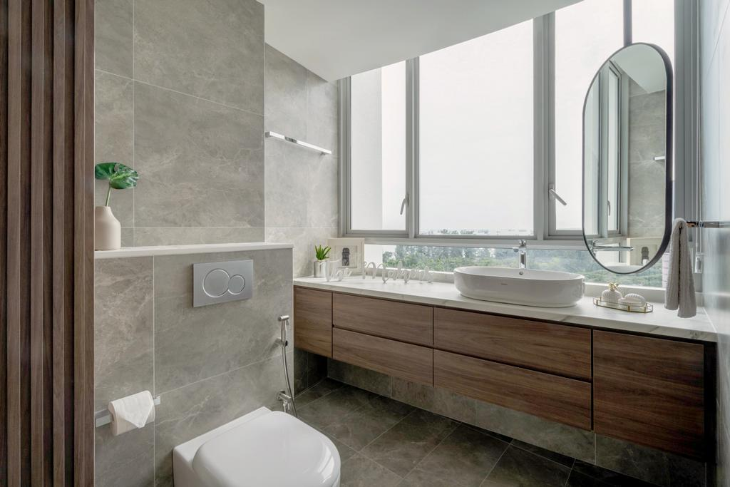 Contemporary, Condo, Bathroom, Aalto, Interior Designer, The Makers Design Studio