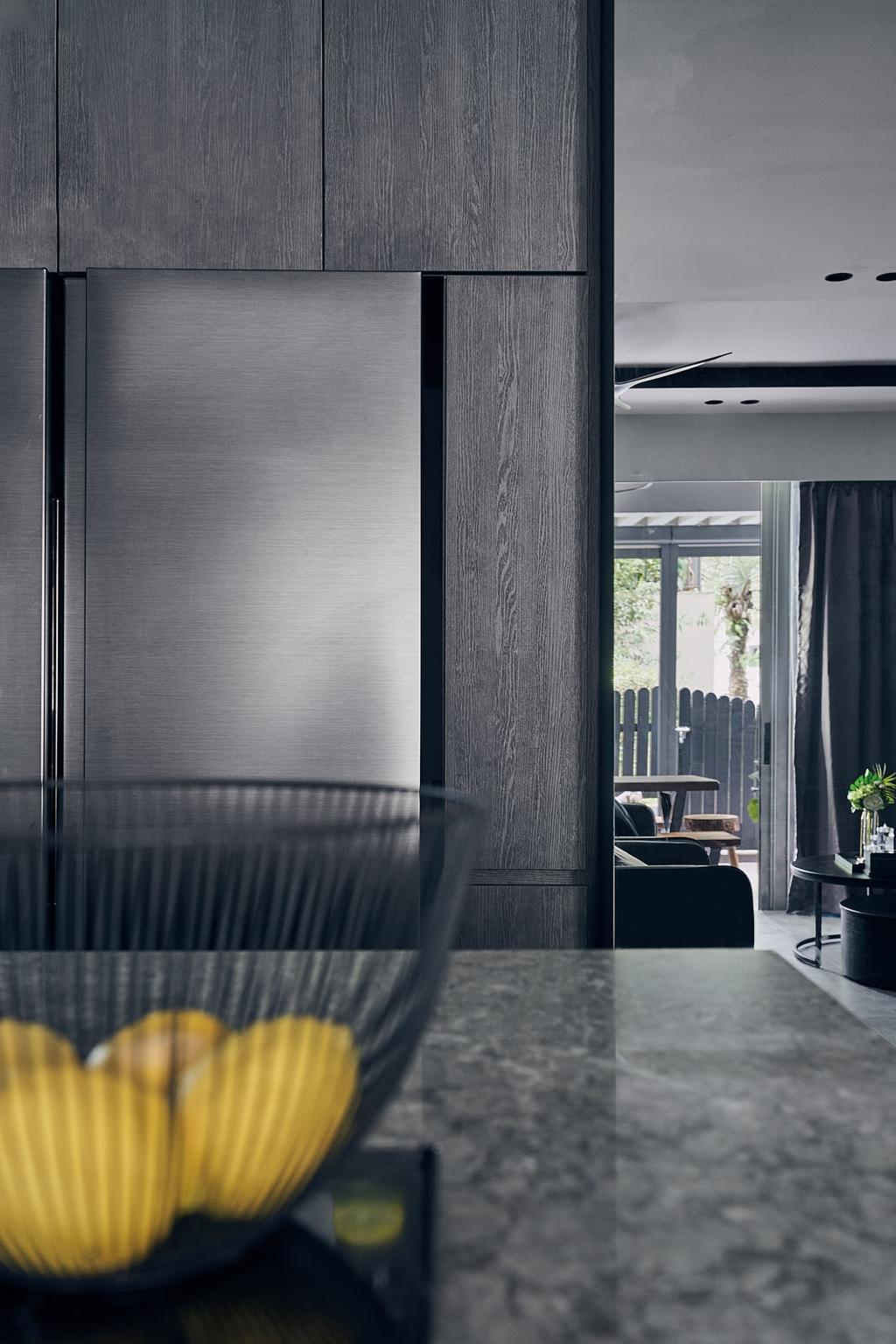 Contemporary, Condo, Kitchen, Q Bay Residences, Interior Designer, Rockin Spaces