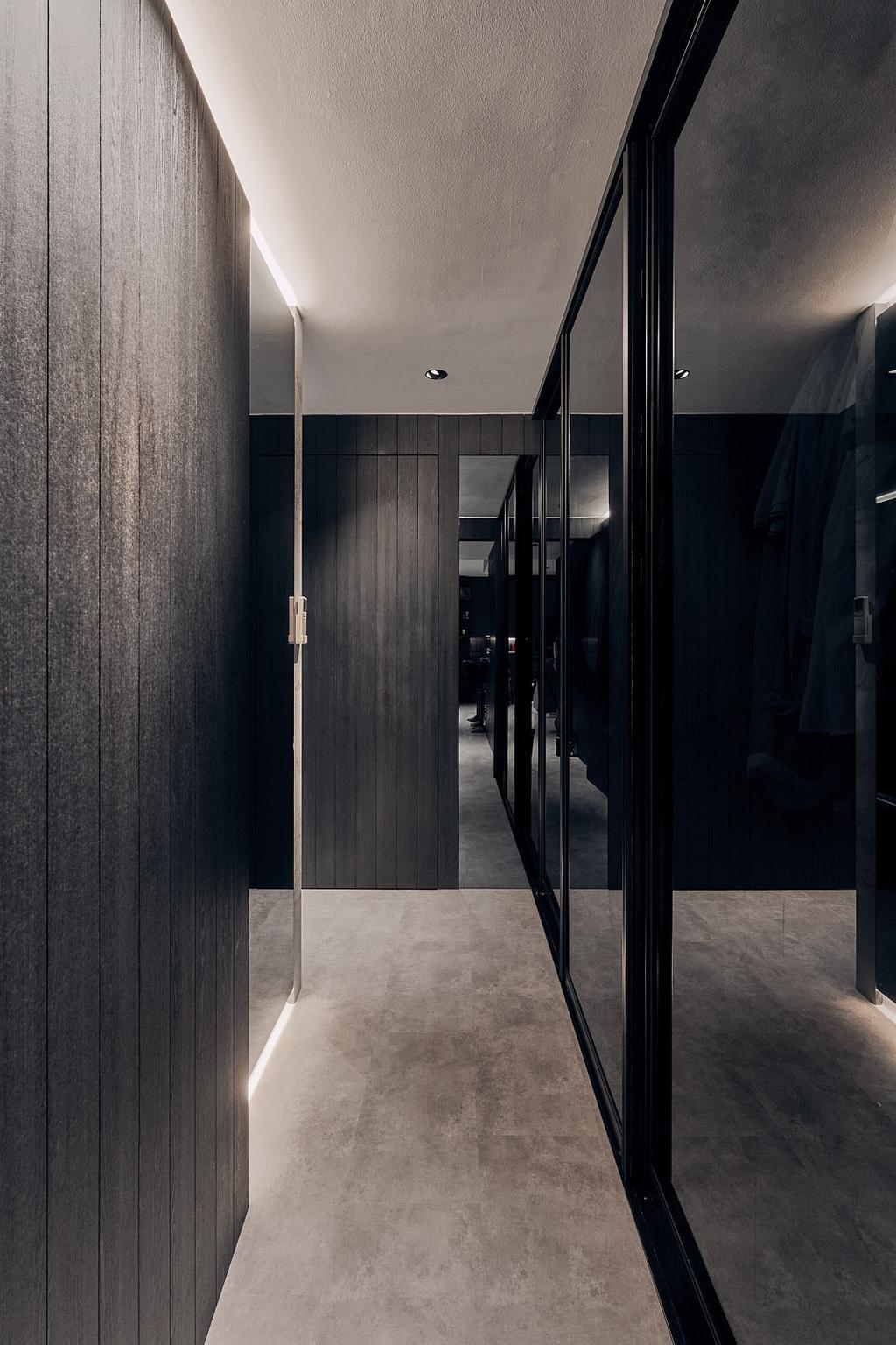 Contemporary, Condo, Bedroom, Q Bay Residences, Interior Designer, Rockin Spaces