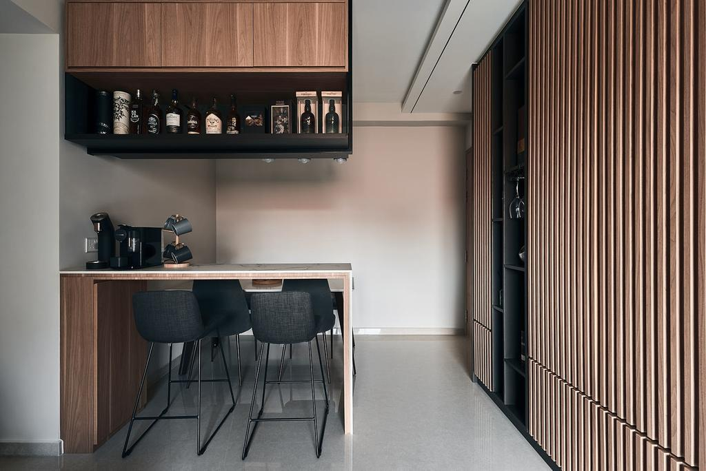 Contemporary, Condo, Dining Room, Yio Chu Kang Road, Interior Designer, Rockin Spaces