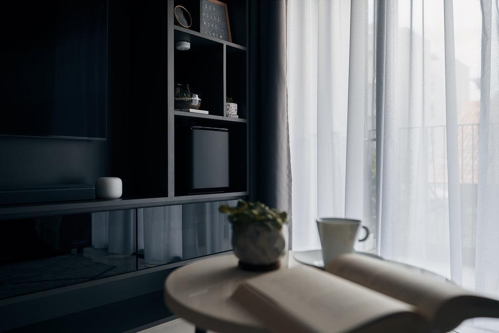 Contemporary, Condo, Living Room, Yio Chu Kang Road, Interior Designer, Rockin Spaces