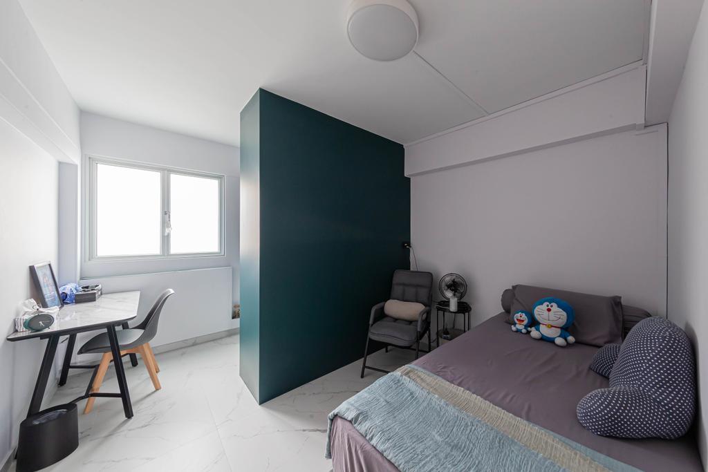 Contemporary, HDB, Bedroom, Bedok North Street 3, Interior Designer, Swiss Interior Design