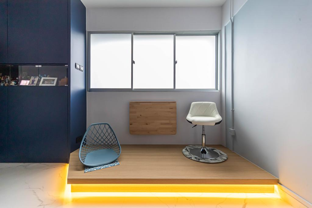 Contemporary, HDB, Living Room, Bedok North Street 3, Interior Designer, Swiss Interior Design